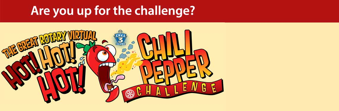 The Great Rotary Hot Chili Pepper Challenge