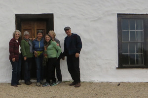 Visiting Higuera Adobe
